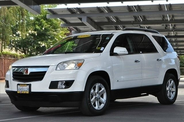 2009 SATURN OUTLOOK XR 4DR SUV white we finance everybody  having trouble financing a car we g