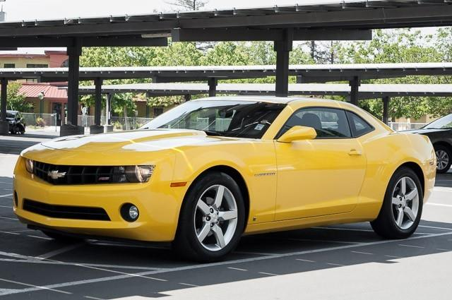 2010 CHEVROLET CAMARO LT 2DR COUPE W2LT yellow we finance everybody having trouble financing a