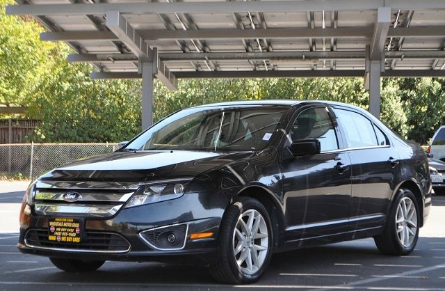 2012 FORD FUSION SEL 4DR SEDAN black we finance everybody  having trouble financing a car we g