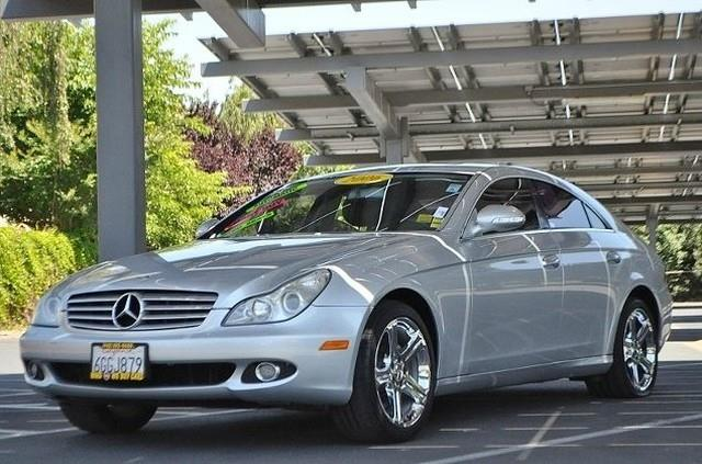 2006 MERCEDES-BENZ CLS-CLASS CLS500 4DR SEDAN silver we finance everybody   having trouble finan