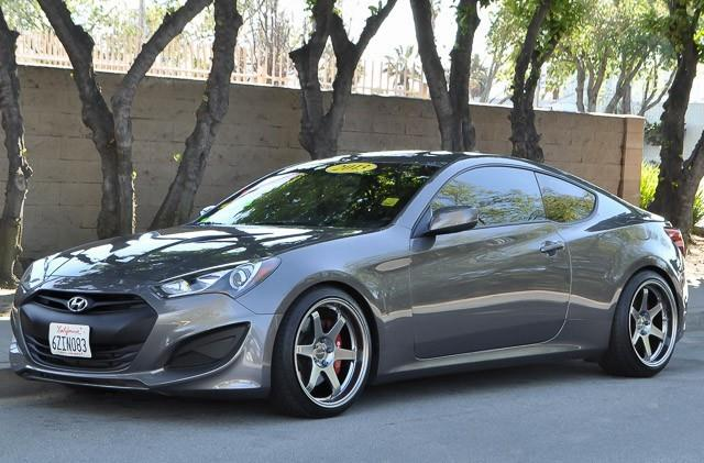 2013 HYUNDAI GENESIS COUPE R-SPEC gray we finance everybody having trouble financing a car we