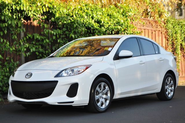 2012 MAZDA MAZDA3 I SPORT 4DR SEDAN 5M white we finance everybody  having trouble financing a ca