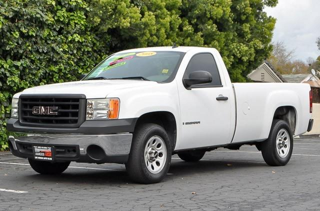 2008 GMC SIERRA 1500 WORK TRUCK white we finance everybody having trouble financing a car we g
