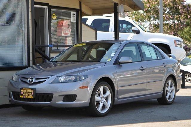 2008 MAZDA MAZDA6 I SPORT VE gray we finance everybody  having trouble financing a car we gura