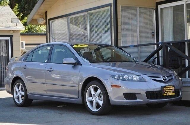 2008 MAZDA MAZDA6 I SPORT VALUE EDITION 4DR HATCHB gray we finance everybody  having trouble fin