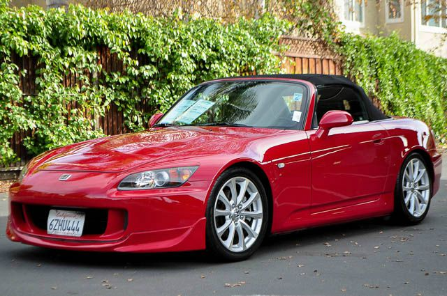 2007 HONDA S2000 BASE 2DR CONVERTIBLE red we finance everybody  having trouble financing a car