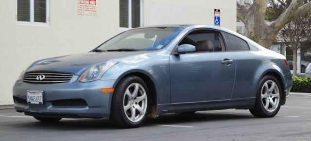 2005 INFINITI G35 BASE RWD 2DR COUPE blue we finance everybody having trouble financing a car