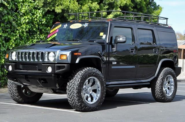2006 HUMMER H2 BASE 4DR SUV 4WD black we finance everybody having trouble financing a car we g