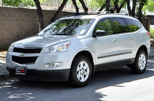 2011 CHEVROLET TRAVERSE LS AWD 4DR SUV silver we finance everybody having trouble financing a ca