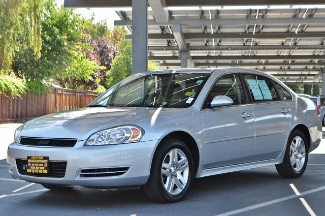 2012 CHEVROLET IMPALA LT FLEET 4DR SEDAN silver we finance everybody  having trouble financing a
