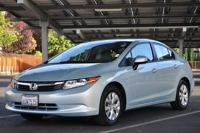 2012 HONDA CIVIC LX 4DR SEDAN 5A blue we finance everybody  having trouble financing a car we