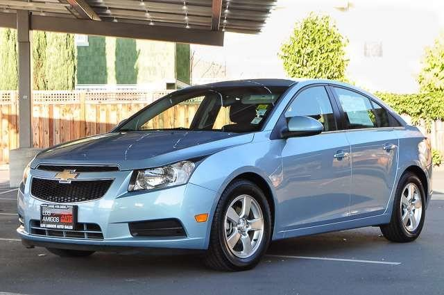 2012 CHEVROLET CRUZE LT 4DR SEDAN W1LT blue los amigos auto sales is excited to offer this 2012 c