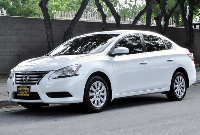 2013 NISSAN SENTRA S whiteblack we finance everybody having trouble financing a car we guaran