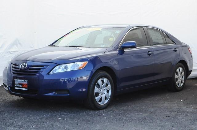 2007 TOYOTA CAMRY LE 4DR SEDAN 24L I4 5A blue we finance everybody having trouble financing