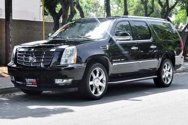 2010 CADILLAC ESCALADE ESV LUXURY AWD 4DR SUV black we finance everybody having trouble financin