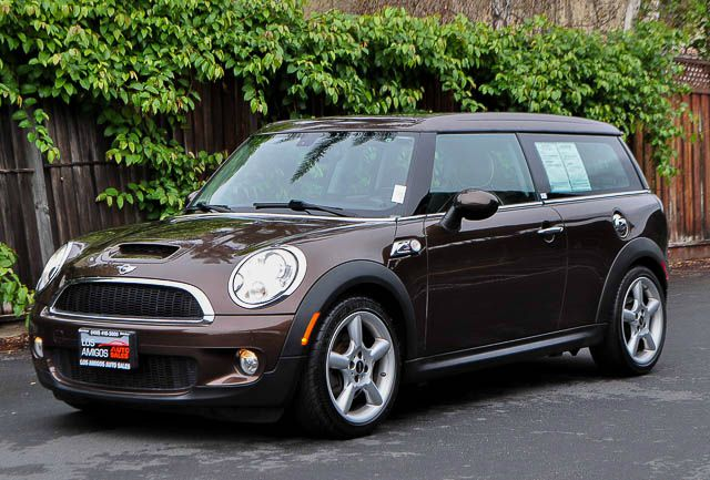 2009 MINI COOPER CLUBMAN S 3DR WAGON brown we finance everybody  having trouble financing a car