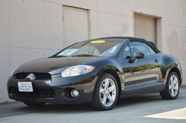2007 MITSUBISHI ECLIPSE SPYDER GT 2DR CONVERTIBLE 38L V6 5A black we finance everybody  havin