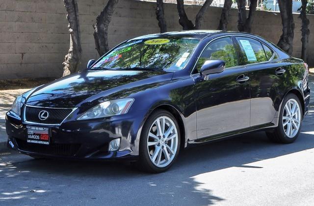 2007 LEXUS IS 250 BASE 4DR SEDAN 25L V6 6A blue we finance everybody having trouble financing