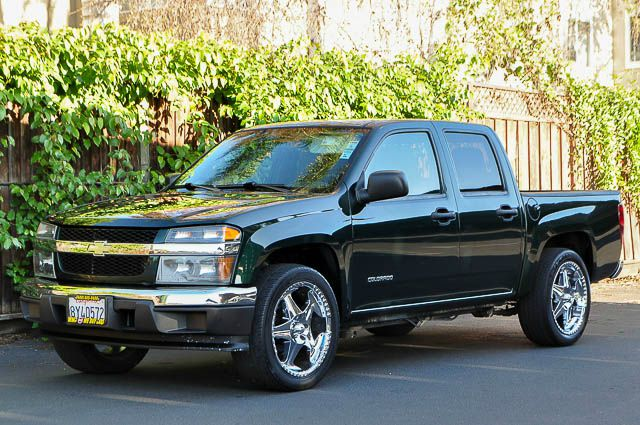 2005 CHEVROLET COLORADO Z85 LS 4DR CREW CAB RWD SB green we finance everybody  having trouble fi
