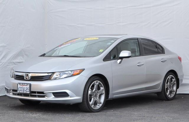 2012 HONDA CIVIC EX-L 4DR SEDAN unspecified we finance everybody having trouble financing a car