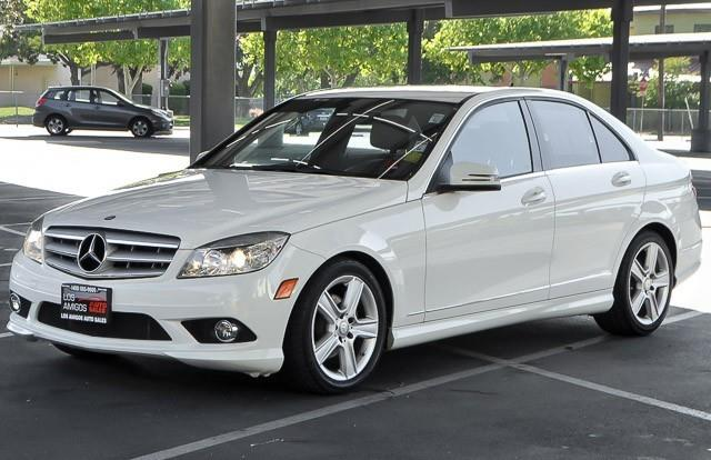 2010 MERCEDES-BENZ C-CLASS C300 SPORT 4DR SEDAN white we finance everybody having trouble financ