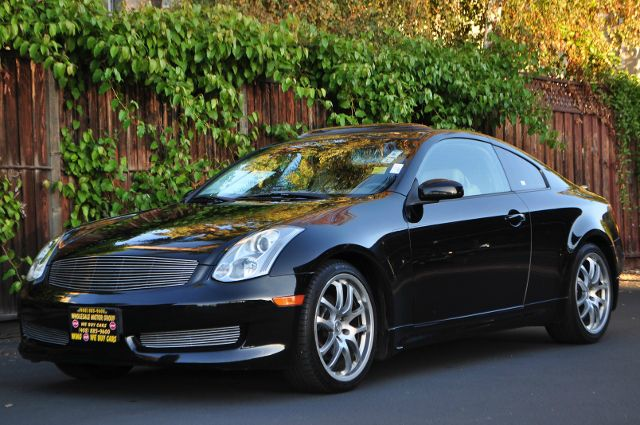 2006 INFINITI G35 BASE 2DR COUPE 35L V6 5A black we finance everybody  having trouble financi