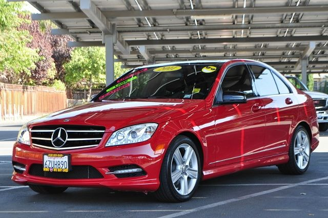 2011 MERCEDES-BENZ C-CLASS C300 SPORT 4DR SEDAN red we finance everybody  having trouble financi