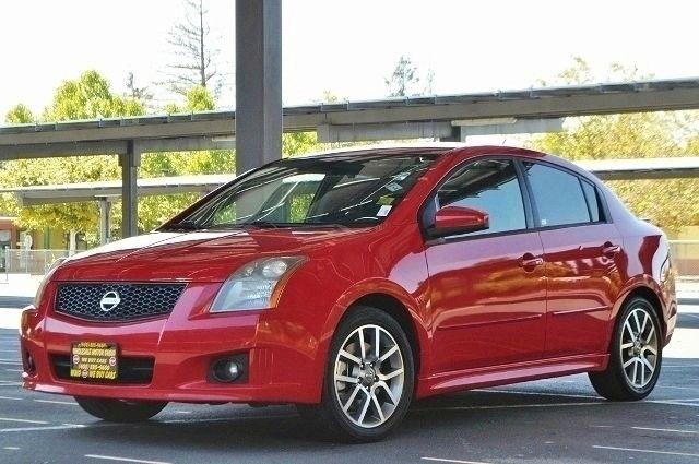 2008 NISSAN SENTRA SE-R SPEC V SEDAN red we finance everybody  having trouble financing a car