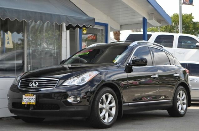 2008 INFINITI EX35 JOURNEY WAGON CROSSOVER black we finance everybody  having trouble financing