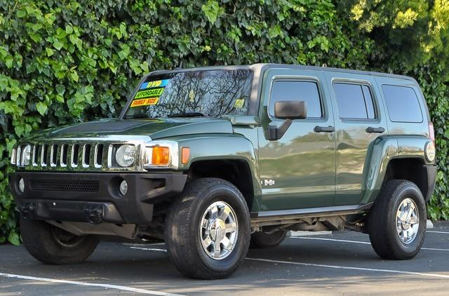 2006 HUMMER H3 BASE 4DR SUV 4WD green we finance everybody having trouble financing a car we g