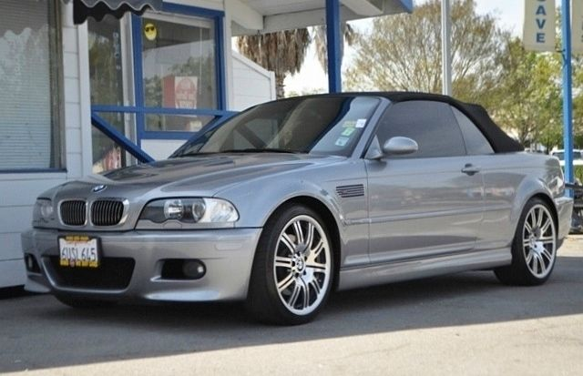 2003 BMW M3 CONVERTIBLE gray we finance everybody  having trouble financing a car we gurantee