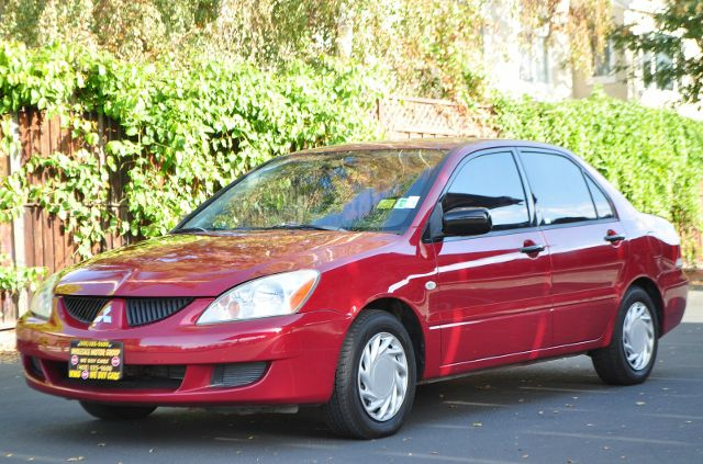 2004 MITSUBISHI LANCER ES 4DR SEDAN red we finance everybody  having trouble financing a car w
