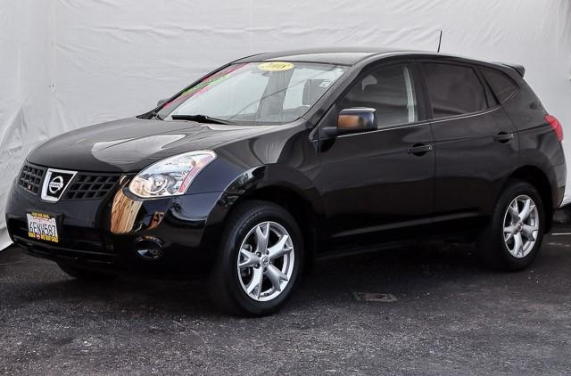 2008 NISSAN ROGUE S CROSSOVER 4DR black we finance everybody having trouble financing a car we