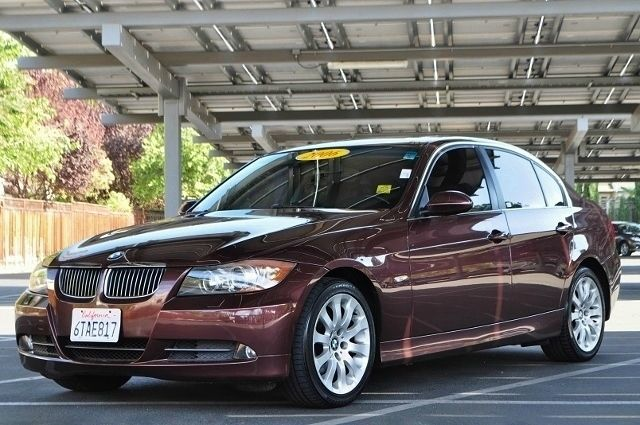 2006 BMW 3 SERIES 330I 4DR SEDAN maroon we finance everybody  having trouble financing a car w