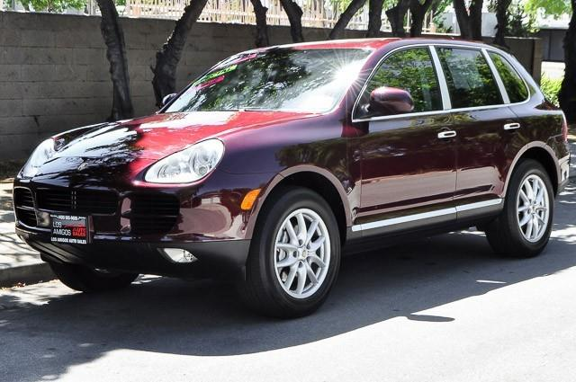 2004 PORSCHE CAYENNE S AWD 4DR SUV red we finance everybody having trouble financing a car we