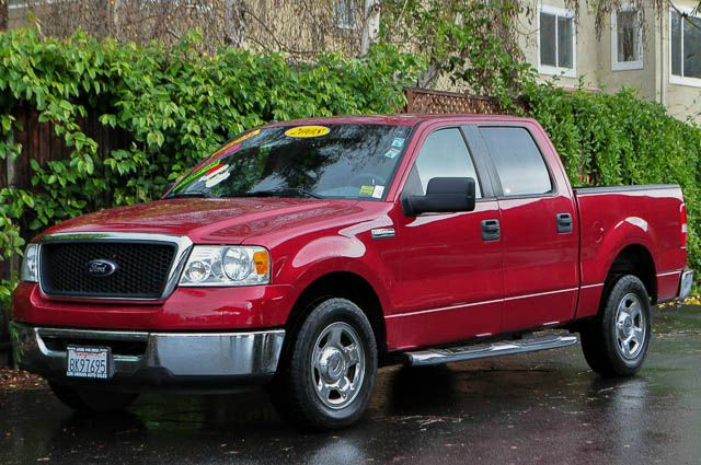 2008 FORD F-150 XLT 4X2 4DR SUPERCREW STYLESIDE red we finance everybody  having trouble financi