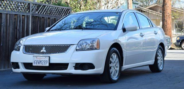 2012 MITSUBISHI GALANT FE 4DR SEDAN white we finance everybody having trouble financing a car
