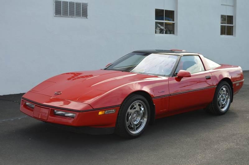 1990 Chevrolet Corvette ZR-1 ZR1 2dr Hatchback - Springfield MA