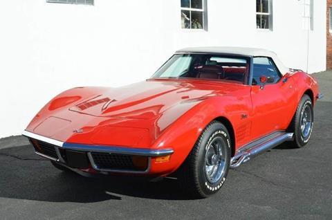 1972 Chevrolet Corvette for sale in Springfield, MA