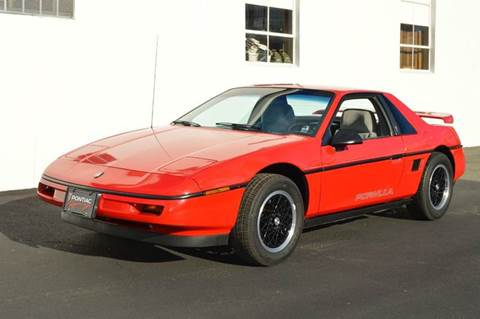 1988 Pontiac Fiero for sale in Springfield, MA