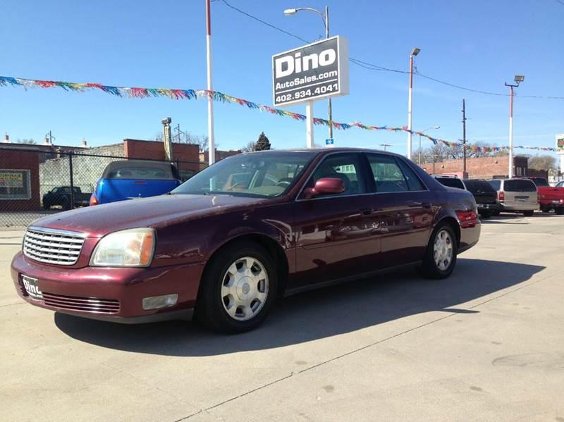 2002 Cadillac Deville 4dr Sedan In Omaha Ne Dino Auto Sales