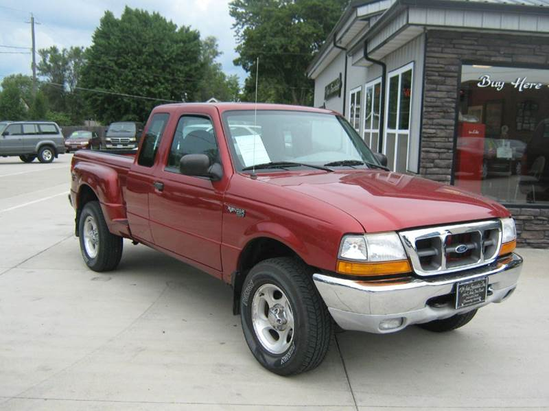 2000 ford ranger 2dr xlt 4wd extended cab stepside sb in des moines ia the auto specialist inc. Black Bedroom Furniture Sets. Home Design Ideas