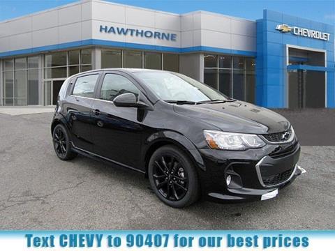 2018 Chevrolet Sonic for sale in Hawthorne, NJ