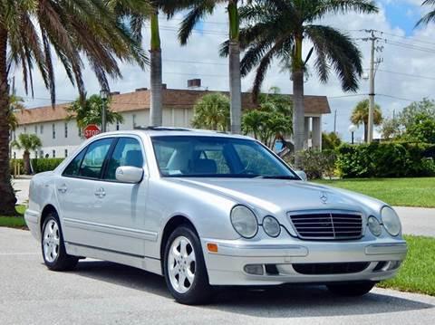 2002 Mercedes-Benz E-Class for sale in Lake Park, FL