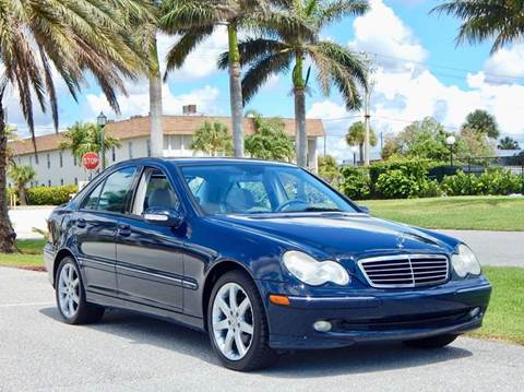 2004 Mercedes-Benz C-Class for sale in Lake Park, FL