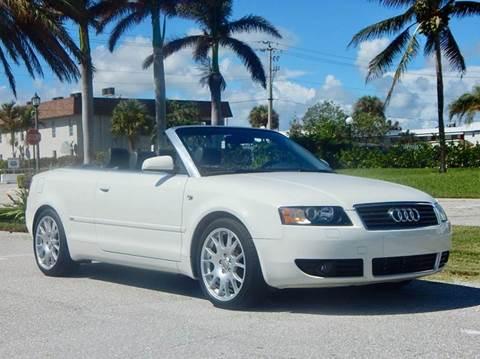 2005 Audi A4 for sale in Lake Park, FL