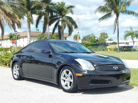 2003 Infiniti G35 for sale in Lake Park, FL