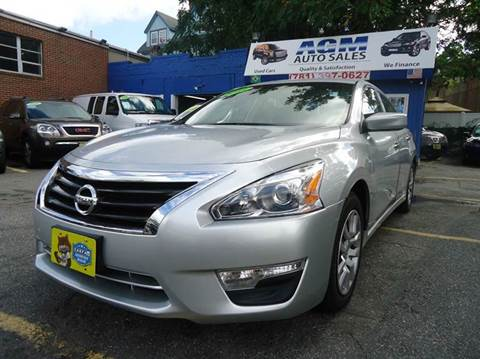 used nissan altima for sale in malden ma. Black Bedroom Furniture Sets. Home Design Ideas