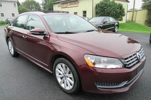 2012 Volkswagen Passat for sale in New Holland, PA