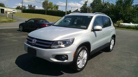 2013 Volkswagen Tiguan for sale in New Holland, PA